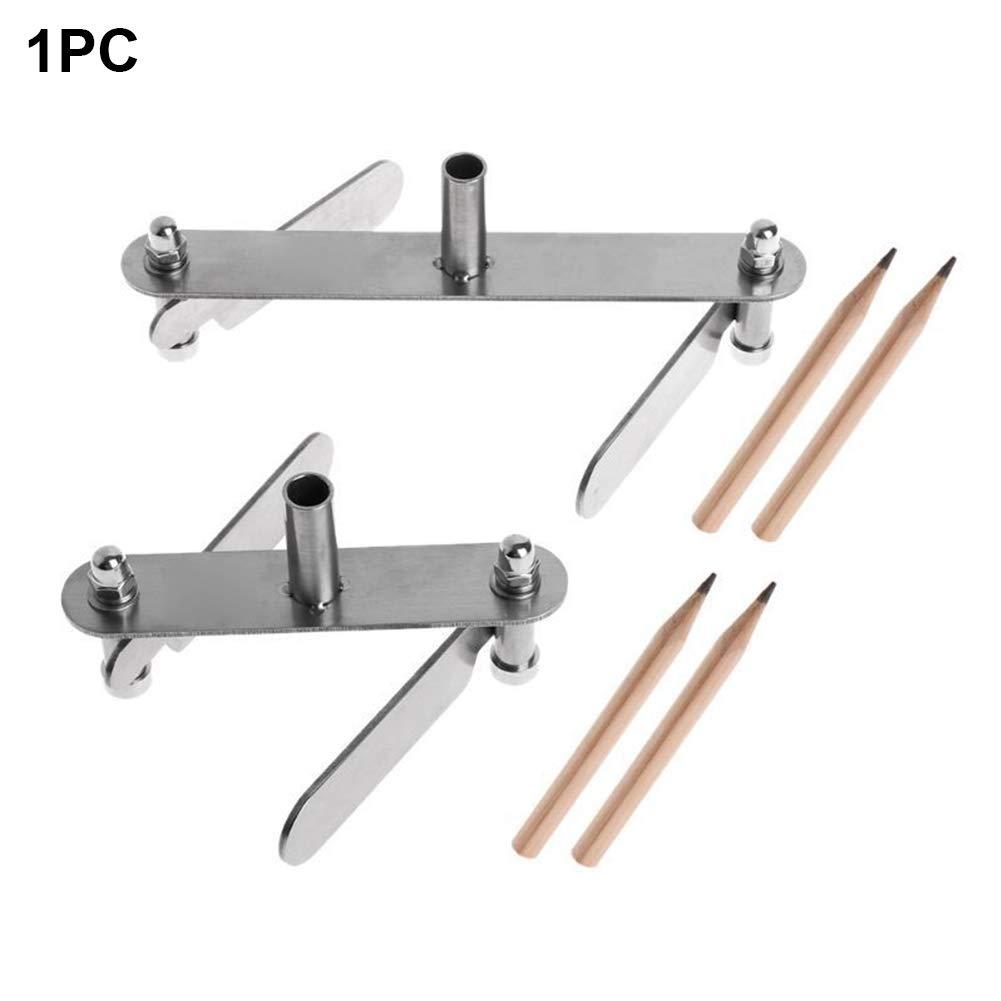 Center Finder Woodworking Truschino Center Scriber calibro marca allineamento centrale Line Carpenter Tools