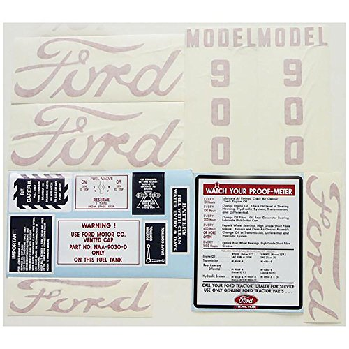 New Ford Tractor Decal Kit Vinyl Cut 900