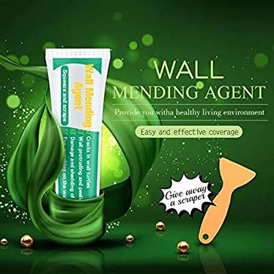 100g Wall Mending Agent - Quick & Easy Solution to Fill The Holes in Your Walls-Also Works on Wood & Plaster - Self-Adhesive Drywall Repair Putty (1 pcs)