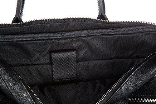 Armani Jeans Aktentasche Tasche Dokumententasche Laptoptasche Schwarz
