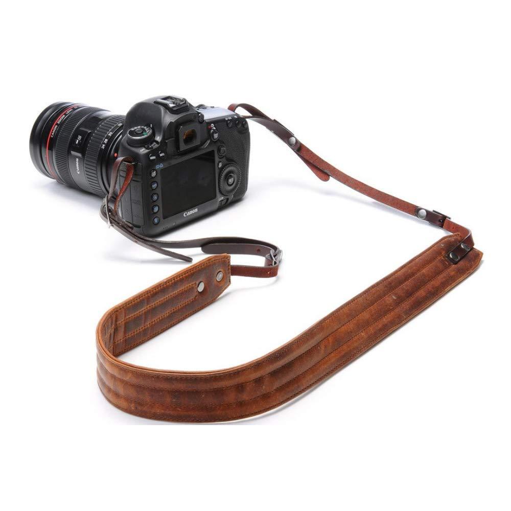 ONA - The Presidio - Camera Strap - Antique Cognac Leather (ONA023LBR) by ONA