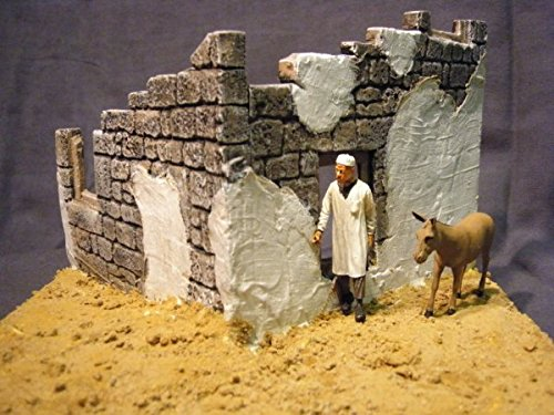 1/35 Scale - Tobruk Ruin suit WW2 North African military model by Fields of Glory (Image #2)
