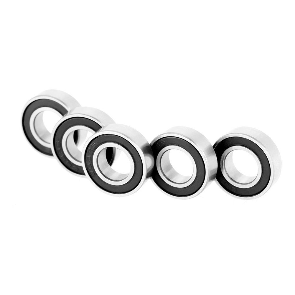 10pcs 688-2RS Rubber Sealed Deep-Groove Ball Bearings for Small Hobby 5mm Wave//Rod Projects 8x16x5mm Single Row Bearings