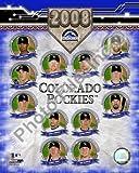 Colorado Rockies 2008 Team Composite 8x10
