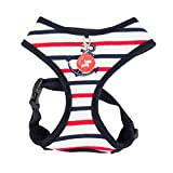 Puppia Authentic Capitane Harness A, X-Large, Navy