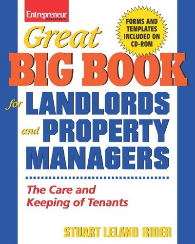 Great Big Book For Landlords and Property Managers (Great Big Book for Landlords & Property Managers) by Brand: Entrepreneur Press
