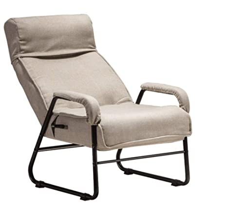 Amazon.com: LYQZ - Sofá reclinable y plegable de lino y ...