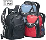 Good Hope Bags 5245BLK The Techno iPod Ready Backpack – Black, Outdoor Stuffs