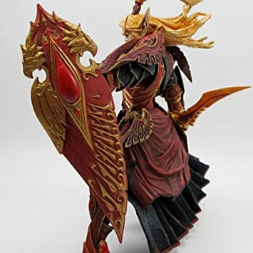 WORLD of WARCRAFT WOW BLOOD ELF PALADIN QUIN/'THALAN SUNFIRE ACTION FIGURES TOY