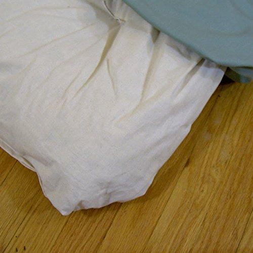 Purple Shiatsu Massage Mat - Futon Style Large Bodwork Mat with Removalble Cotton Twill Cover by Sage Meditation (Image #3)