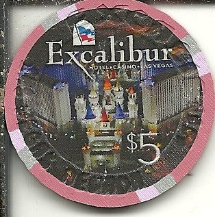 $5 excalibur play at the party las vegas nevada poker casino chip building