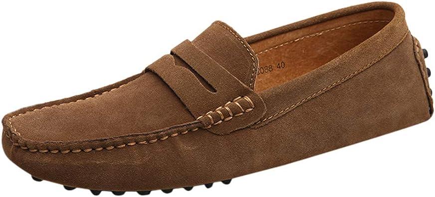 Chaussures de bateau décontractées pour hommes  Confort  Slip On Loafers Nouvea