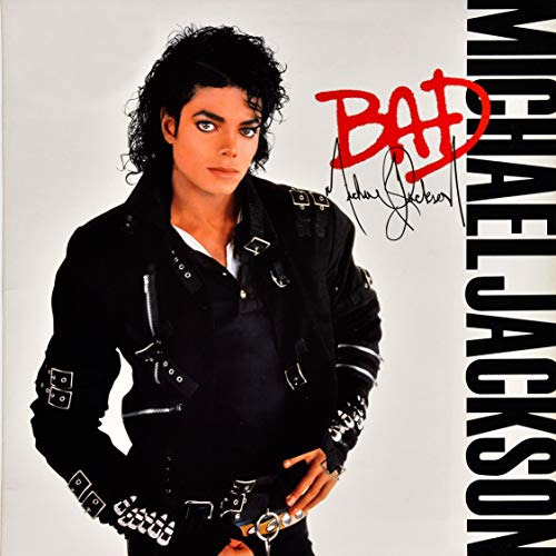 Youngpin Michael Jackson Bad Art Poster Print,Unframed 20x20 Inches