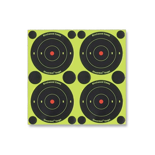 Birchwood Casey Shoot-N-C 3-Inch Round Bull's-Eye Target (Pack of 12)