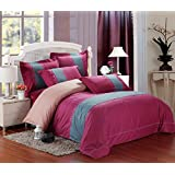 GL&G European cotton satin embroidery four - piece fashion simple embroidery cotton quilt bed linen,G,null