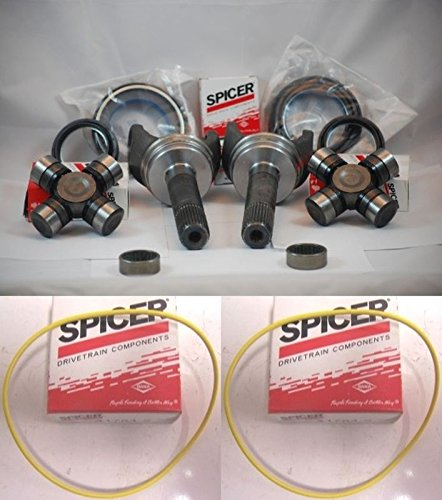 Shaft Outer - FORD 98-04 F250 F350 SUPERDUTY DANA 50/60 OUTER AXLE SHAFT/ MASTER SEAL KIT