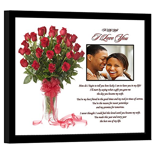 Poetry Gifts I Love You Wife Gift From Husband