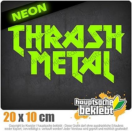 Thrash Metal Hardcore Heavy Death Guitar Autoaufkleber Sticker Bomb Decals Tuning Bekleben KIWISTAR Aufkleber