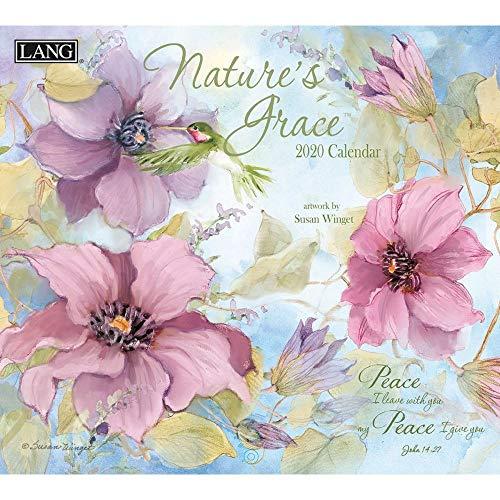 The LANG Companies Nature's Grace 2020 Wall Calendar (20991001932)