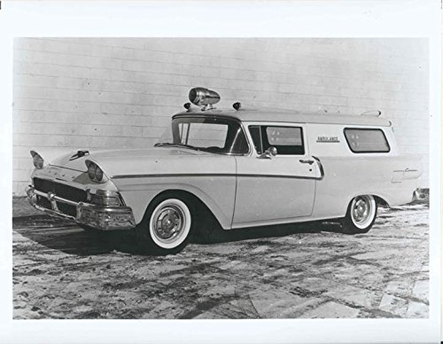 1958 Ford Courier Amblewagon Factory Photo
