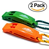 VnSupertramp Emergency Whistle Survival with Long Lanyard...