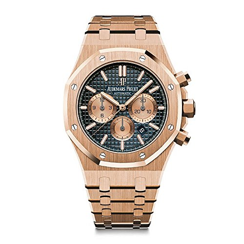 Audemars Piguet AP Royal Oak Chronograph Novelty 41 Rose Gold Blue Dial 26331OR.OO.1220OR.01