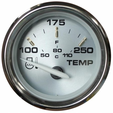 Faria Beede 19003 Kronos 2 in. Water Temperature Gauge ()