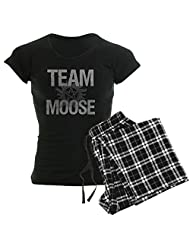 CafePress - Team Moose - Women's Dark Pajamas