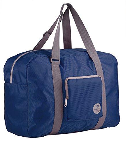 7b4a8a82a7c2 Wandf Foldable Travel Duffel Bag Luggage Sports Gym Water - Import ...