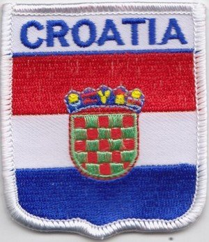 Croata de Croacia de la bandera de parche escudo del Real Mallorca