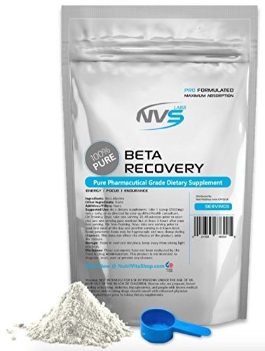 NVS Labs Beta Alanine Powder 100% Pure USP Grade (10 kilograms (22lbs)) by NVS Labs