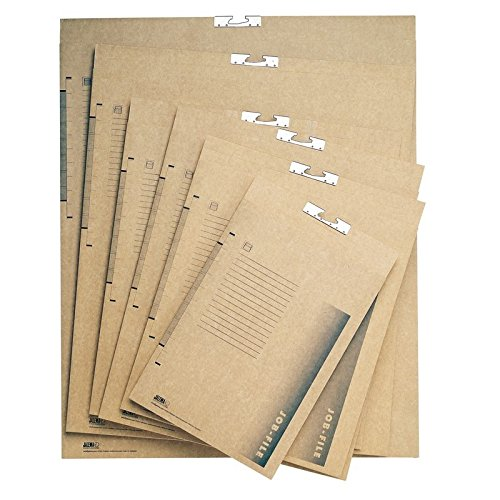 17'' x 21'' Capacity Jalema Grafi-System Brown File (Box of 50) by Grafi-System