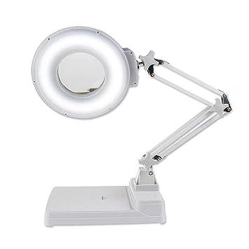 Acai Lupas Hd con luces LED Lupa de escritorio Vidrio blanco 10X ...
