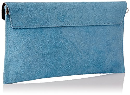 Light Blue Handbags Clutch Girly Rebecca Handbags Womens Blue Girly nWfq06wwY