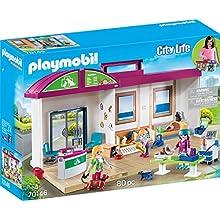 PLAYMOBIL- City Life Figuras y Juegos de contrucción, Color carbón (70146)