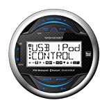 Dual Electronics MGH25BT 2.5 inch LCD Waterproof Marine Digital Media Receiver with Built-In Bluetooth, MP3, WMA & USB Port