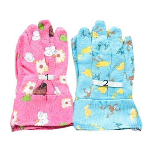Discount Creative Children Floral Garden Gloves Premium Gloves Random Delivery hot sale