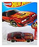 77 pontiac firebird - Hot Wheels, 2016 HW Flames, '77 Pontiac Firebird [Red] #93/250