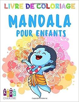 Coloriage De Mandala De Vache.Livre De Coloriage Mandala Pour Enfants De 3 A 5 Ans Mandalas