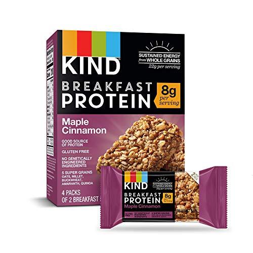 Granola Cinnamon Crunch (KIND Breakfast Protein Bars, Maple Cinnamon, Gluten Free, 1.76oz, 32 Count)