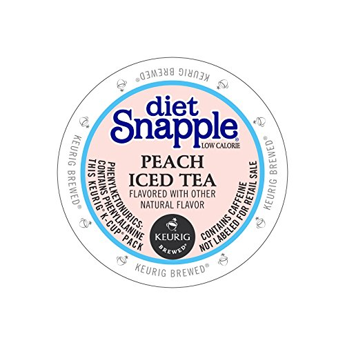 Snapple Diet Peach Iced Kcups product image