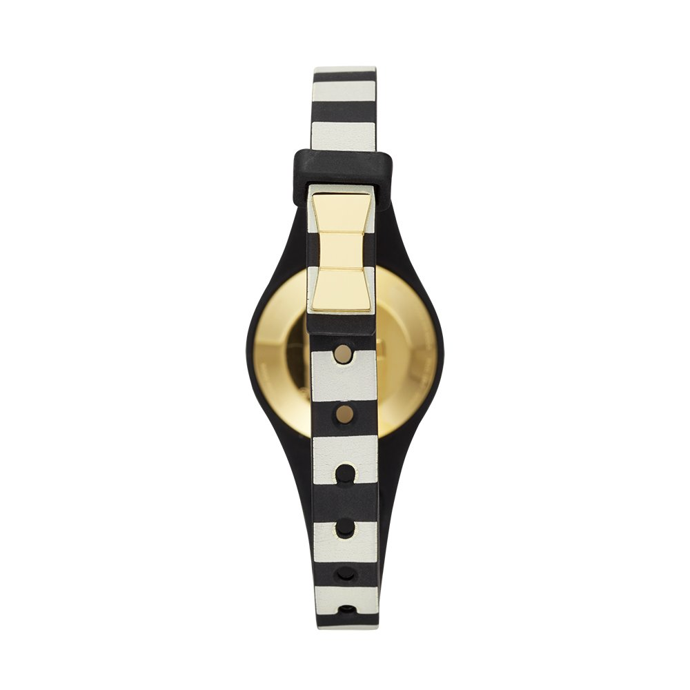 Kate Spade New York black and white stripe scallop activity tracker by Kate Spade New York (Image #4)