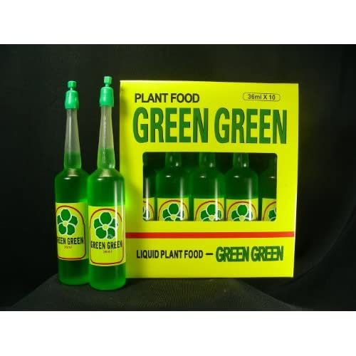 ChingWenArts Green Green Plant Food Lucky Bamboo Fertilizer 12 Bottles, F9956 hot sale