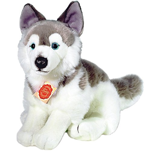 Hermann Teddy Collection 927297 - Peluche - Chien Husky Séance - 29 cm