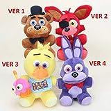 25cm Five Nights At Fre-ddy's FNAF Plush Doll Freddy Bear Foxy Chica Bonnie stuffed Plush Toys Kid Children Dolls Kids Gift