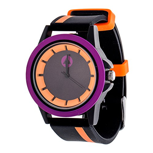 Airwalk Chinese-Automatic Watch with Silicone Strap, Black (Model: AWW-5099-OR)