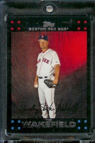 2007 Topps #116 Tim Wakefield Boston Red Sox - MLB Baseball Trading Card