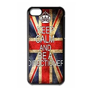 wugdiy DIY Protective Snap-on Hard Back Case Cover for iPhone 5C with One Direction
