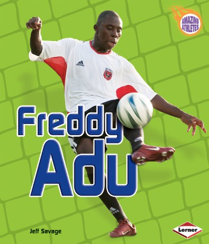 Freddy Adu (Amazing Athletes) by Lerner Publishing Group (Image #1)