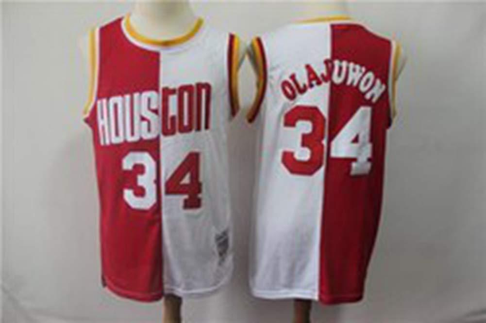 YDYL-LI Houston Rockets # 34 Hakim Olajuwon Retro Camiseta De ...